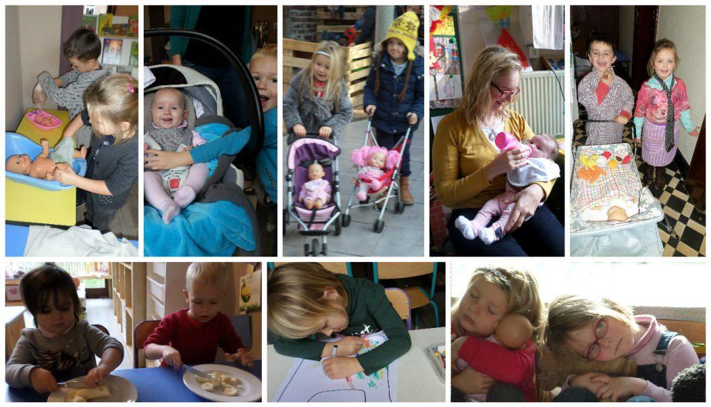 collage de baby